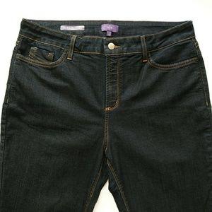 NYDJ Jeans - PLUS NYDJ Marilyn Straight Leg High Waist Jeans 16
